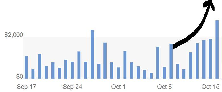 ebayで連日2000ドル越えの売上を達成できた理由