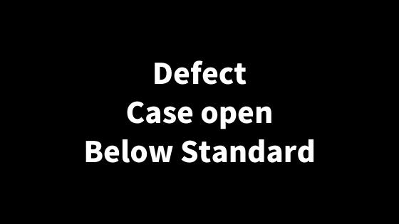 【ebay輸出】Defect/Case Open/Below Standardについて徹底解説!