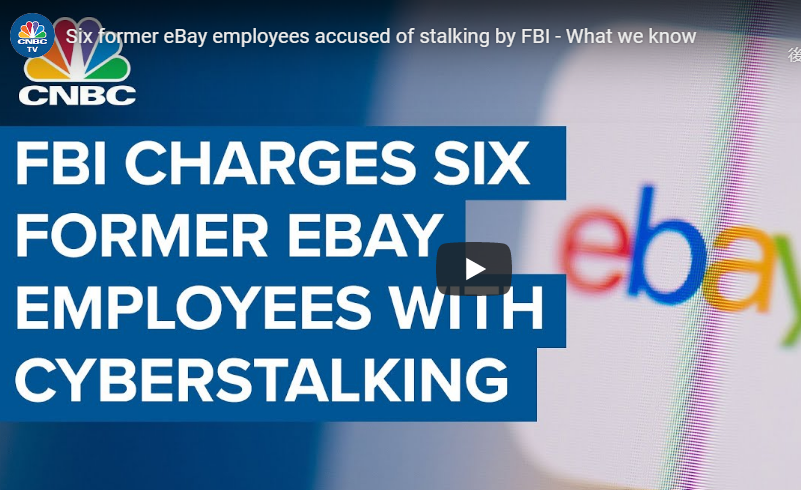 ebayの幹部がサイバーストーキングや嫌がらせで逮捕&起訴!?